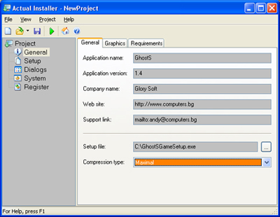 Actual Installer - Creating Installation Package - Review at