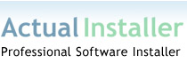 Installation software, installer program, windows installer